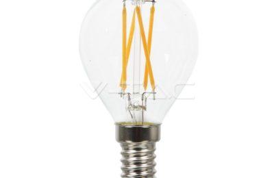 Lampadina E14 a filamento led