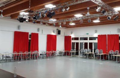 Illuminazione led Vivitecno per Sala da Ballo